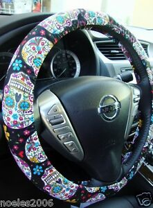 Skull Steering Wheel Cover Ebay