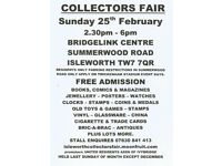 Isleworth Collectors Fair