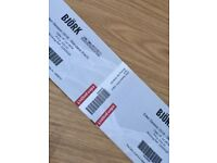 2 x Tickets for Björk at Eden Concert Cornwall 7th July 2018