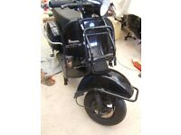 Vespa/LML 150cc...One private owner, very low mileage. Reduced to £1495.00