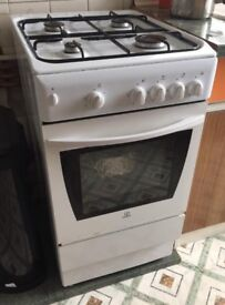 Indesit Gas cooker/oven for sale.