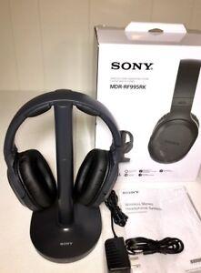 New! Sony Wireless RF Headphones