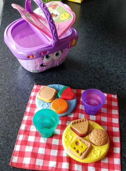 Leapfrog Formen und Teilen Picknickkorb Leapfrog Lernspielzeug