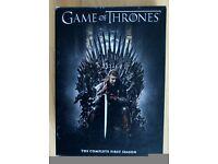 Game Of Thrones complete season 1 boxset