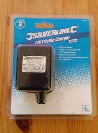 Brand New Silverline 12V Trickle Charger