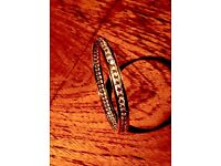 Supremely stunning brand new 925 silver bangle