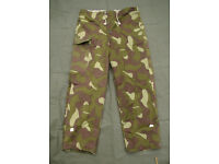 Vintage - Finnish Army Woodland Reversible Trousers (new condition) - Large