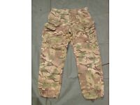 Army Issue MTP (multi Terrain pattern) Combat Trousers, (B)