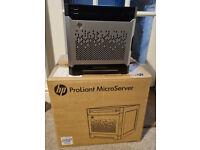 HP ProLiant Microserver Gen8 - i5 CPU, GPU, 128GB SSD