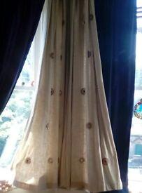 Next curtains x3 pairs