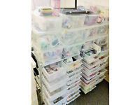 Wholesale JEWELLERY & CRAFT SUPPLIES stock - Ideal first home business, RRP £15k