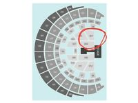 2 x Britney Spears tickets, floor seating next to front