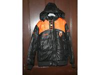 Black Medium size Coat.