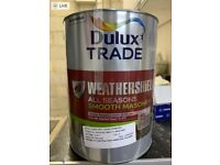 Dulux Trade Weathershield All Seasons Smooth Masonry Paint 5L x 7 tins