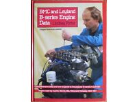 B. M. C. and Leyland B-series Engine Data by Lindsay Porter. Hardback, 1985.