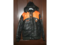 Man Black Coat M size
