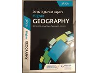 Higher Geography SQA Past Papers 2016