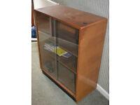 Glass Fronted Retro Book Shelf