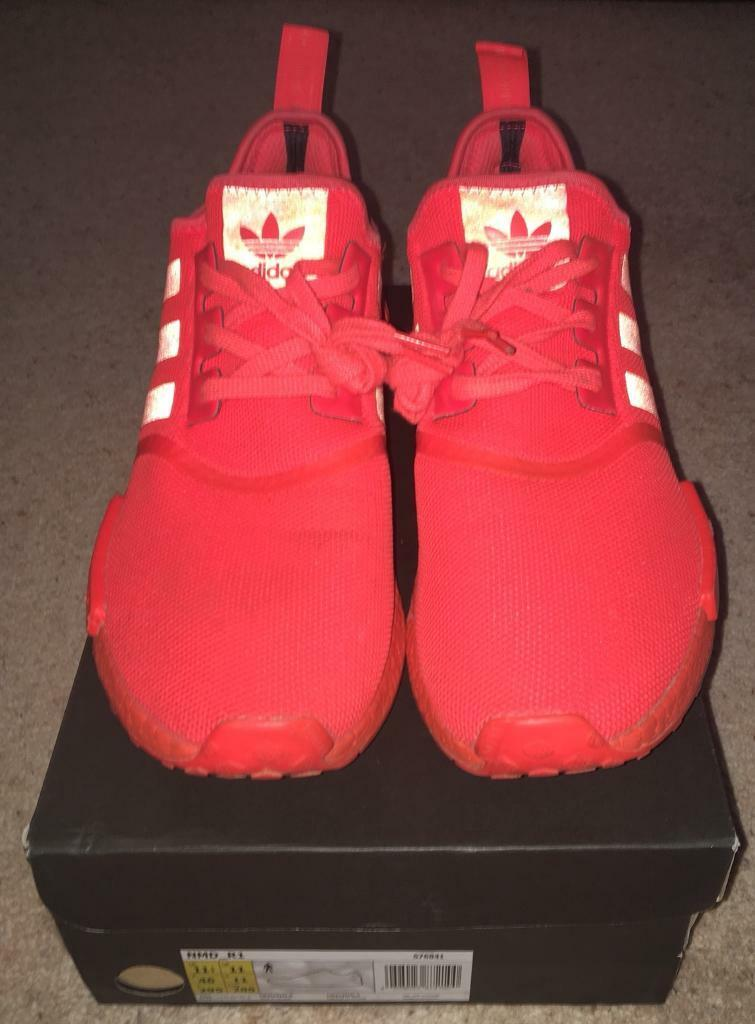 on sale 19195 543b3 Adidas NMD R1 'Solar Red' UK Size 12 | in Selby, North Yorkshire ...