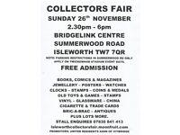 Isleworth General Collectors Fair