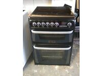 6 MONTHS WARRANTY Cannon CH60EKK 60cm, double oven electric cooker FREE DLEIVERY