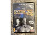 Nintendo GameCube WWE world wrestling entertainment game