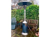 Stainless steel external propane garden heater