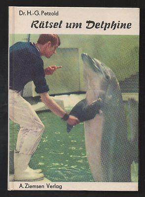 Rätsel um Delphine – Hans-Günter Petzold  DDR Sachbuch  Tiere