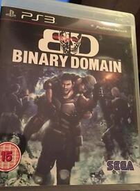 Wanted Binary Domain