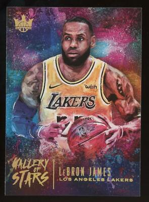 2019 Panini Court Kings Gallery of Stars #20 Lebron James SP Case Hit