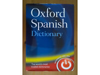 Oxford SPANISH Dictionary - HB - OPEN UNIVERSITY