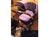 Special Edition Light Blue Bugaboo Donkey (Have most colours and many parts)