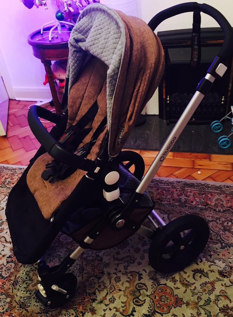 Bugaboo chameleon 3 customise sahara look with carry