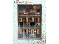 Paint Box Deluxe Cosmetic Make-up Collection Eye Glitter