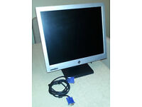 "PC Monitor 17"" c/w all leads"