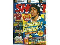 20 Shoot Football Magazines / 1997 / 1998 / VERY good condition