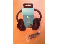 Boxed, unused & as new KS (Kitsound) audio earmuffs.