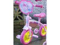 Peppa Pig 2 in 1 toddler bicycle in super condition