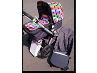 Limited edition bugaboo cameleon 2 in great condition