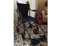 Lightweight transport wheelchair - Drive Travelite