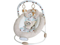 BABY CRADLE BOUNCER SWING CHAIR MUSIC neutral