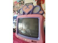 Pink Disney Princess Portable Television.Great condition, GWO