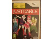 Wii Just Dance game for sale
