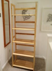 Set of solid pine wood shelving units excellent condition