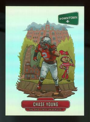 2020 Panini Chronicles Downtown #D15 Chase Young RC Rookie SP Case Hit