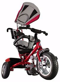 Kiddo Red Smart Design 4-in-1 Childrens' Tricycle