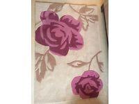 Floral rug for sale, perfect for nursery/girls' bedroom/living room