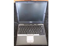DELL LATITUDE D410 FRESH INSTALL OF WINDOWS XP + PROGRAMMES - NO CHARGER