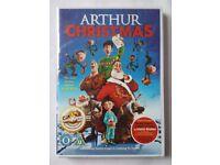 NEW SEALED DVD - ARTHUR CHRISTMAS. GREAT FILM