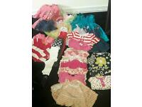 Girls Baby clothes 9-12months